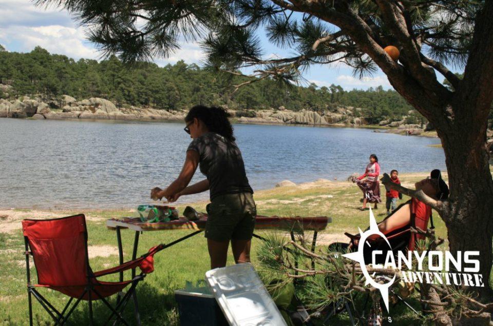 lago de arareko creel chihuahua
