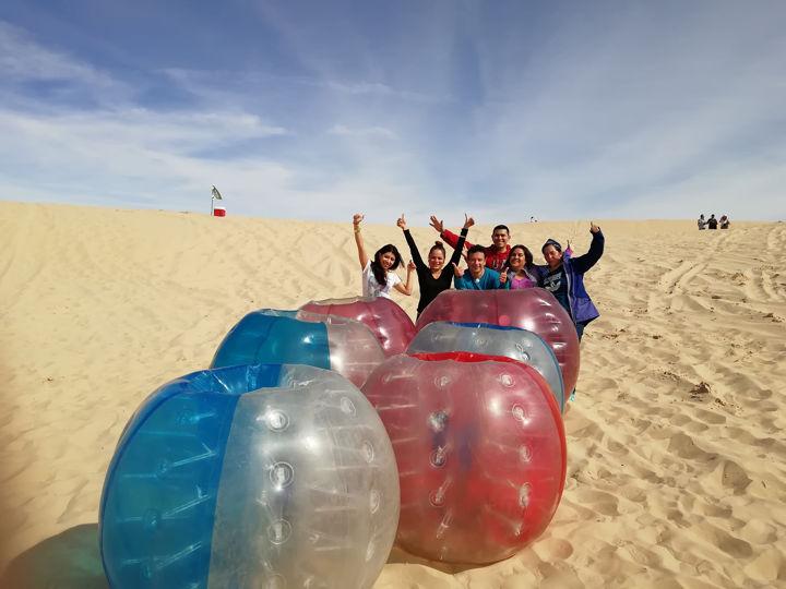Bubble Soccer Samalayuca