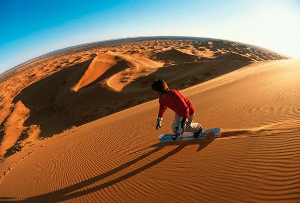 Sandboarding Samalayuca