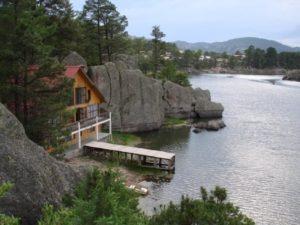 cabana lago de arareko