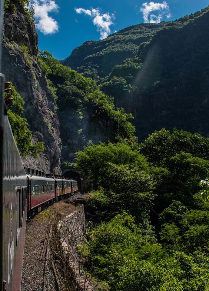 ruta tren chepe túnel